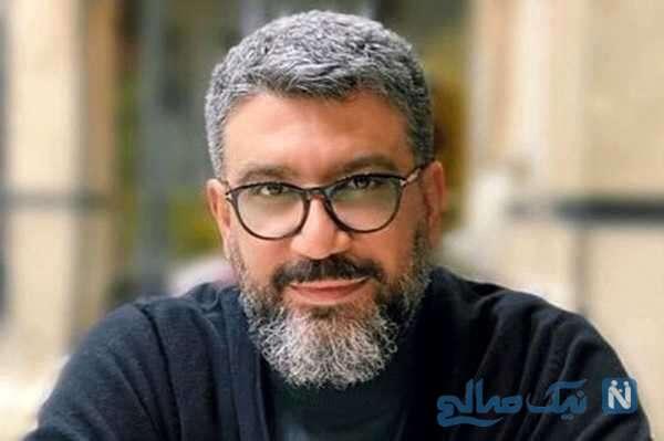 عکس جدید رضا رشیدپور مجری سیم آخر در سالروز تولد ۴۴ سالگی اش