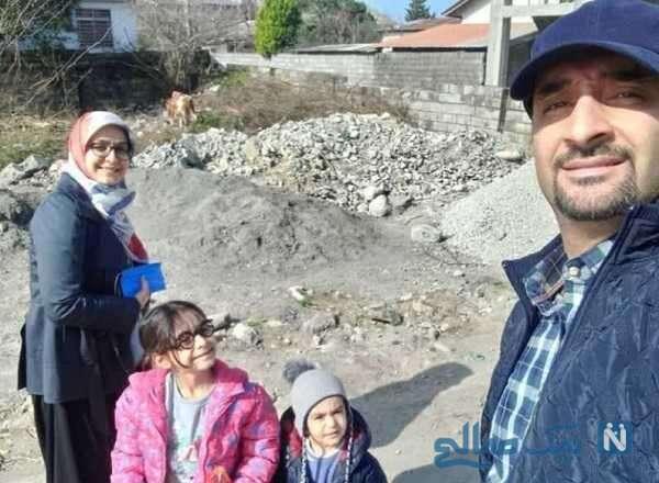 همسر و فرزندان مجری معروف