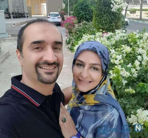 نیما کرمی و همسرش