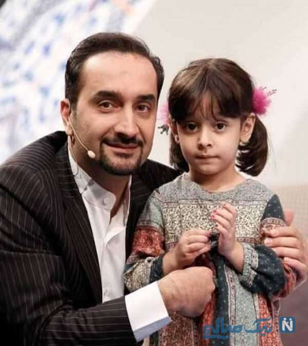 مجری معروف و دخترش
