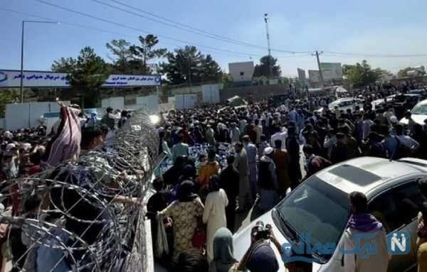فرار مردم افغانستان