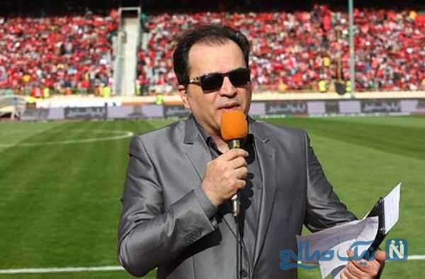 پیمان یوسفی مجری و گزارشگر فوتبال