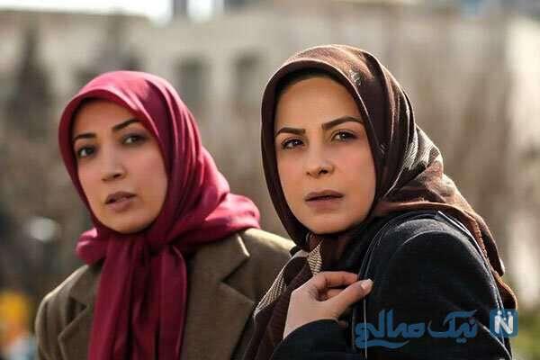 نگار عابدی و سیما تیر انداز در مجموعه تلویزیونی