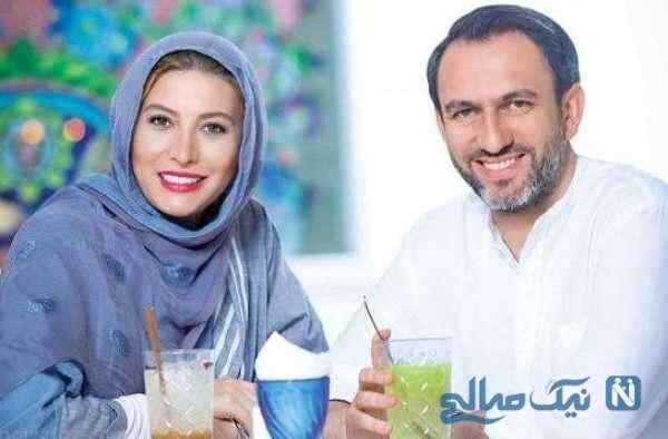 تصاویر فریبا نادری و همسرش