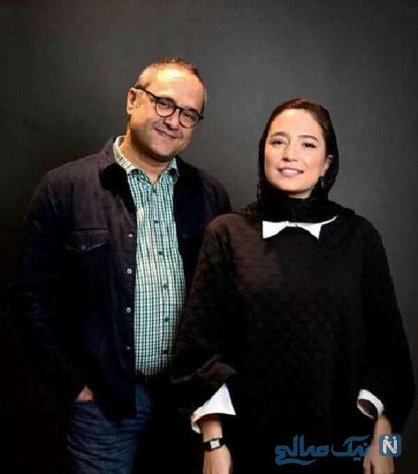 بازیگر رامبد جوان و همسرش