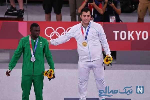 دارنده مدال طلا کاراته المپیک توکیو