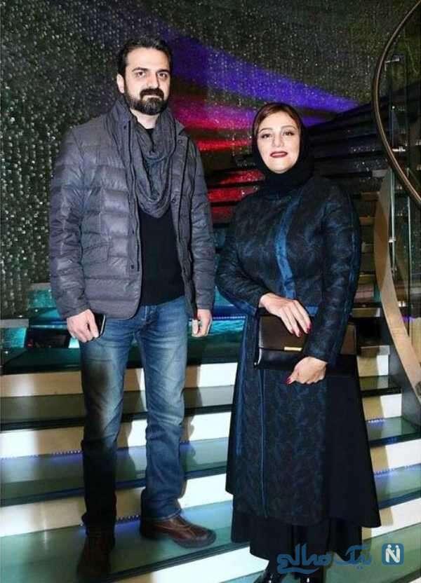 شبنم مقدمی بازیگر سینما و همسرش