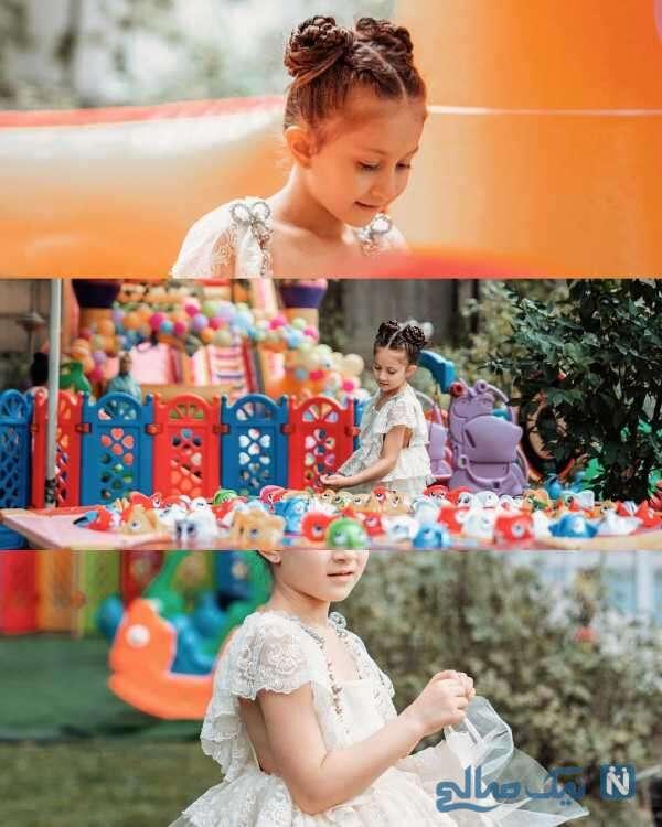 تصاویر جالب به مناسبت تولد دختر شاهرخ استخری