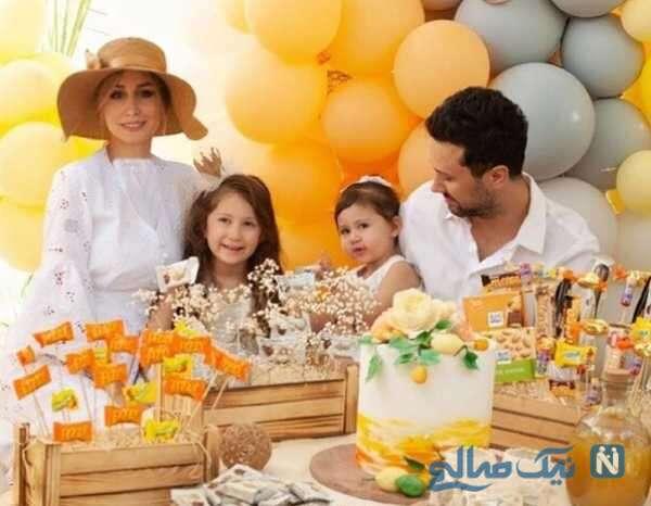 جشن تولد پناه دختر شاهرخ استخری