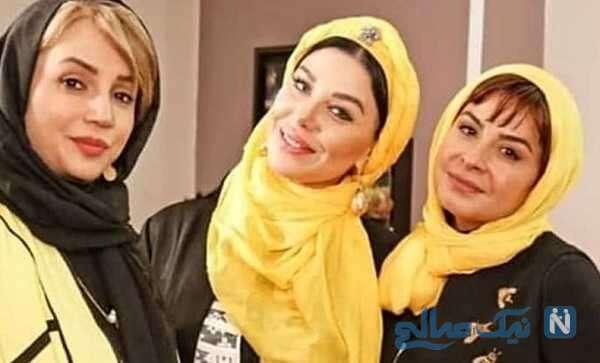 تصویری از سیما تیرانداز و شبنم قلی خانی