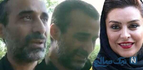 گریه های ابراهیم اشرفی برای همسرش