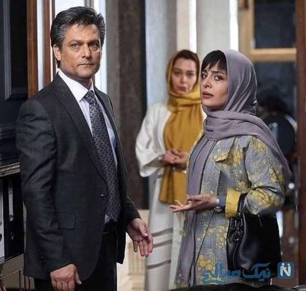 تصویری از بازیگران سریال نمایش خانگی گیسو