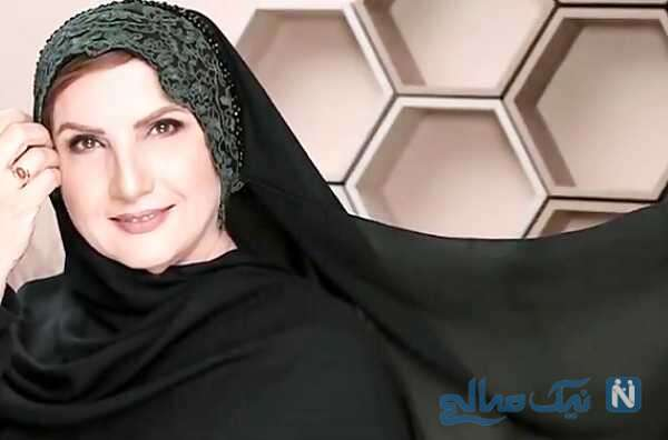 زهرا سعیدی بازیگر سریال یاور در کنار پسرش ایمان افشاریان