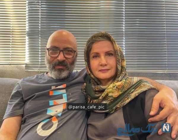 زهرا سعیدی و پسرش ایمان