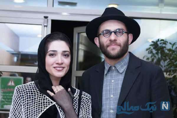 بابک حمیدیان بازیگر معروف و همسرش