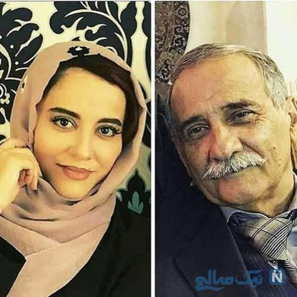 اسماعیل محرابی و دخترش آشا