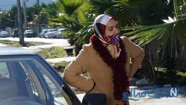 ساناز سماواتی بازیگر سریال بوتیمار