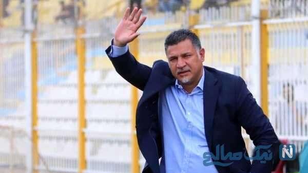 علی دایی مربی فوتبال