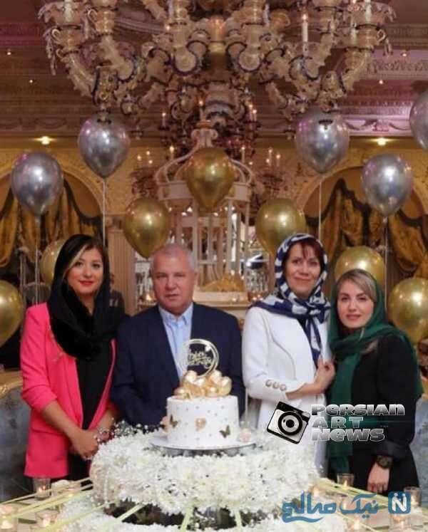 تولد و سالگرد ازدواج لاکچری علی پروین