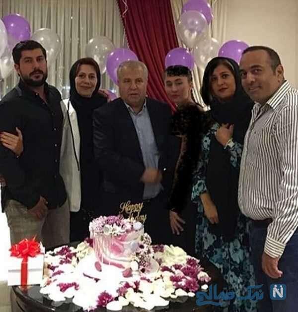 جشن سالگرد ازدواج علی پروین
