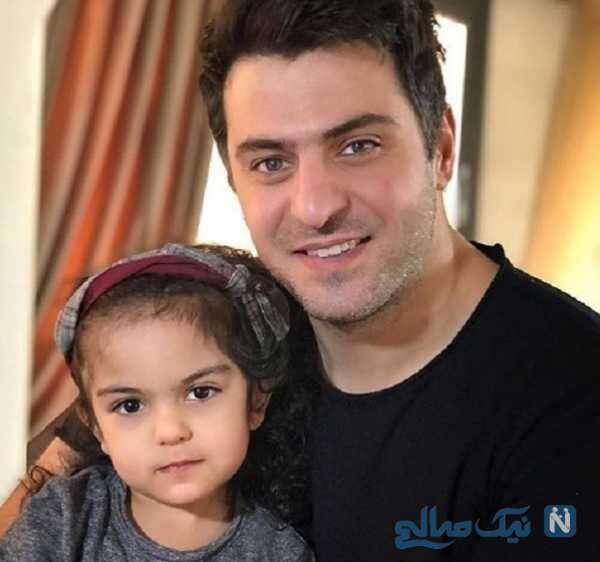 تصویری از علی ضیا و خواهر زاده اش