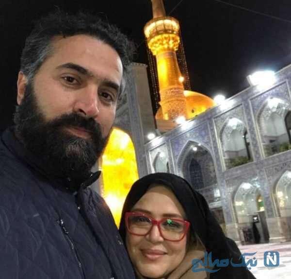 تصویری از امیر خسرو عباسی همسر جدید بهاره رهنما