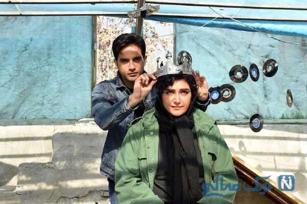 تصویری از ارمان درویش بازیگر ملکه گدایان