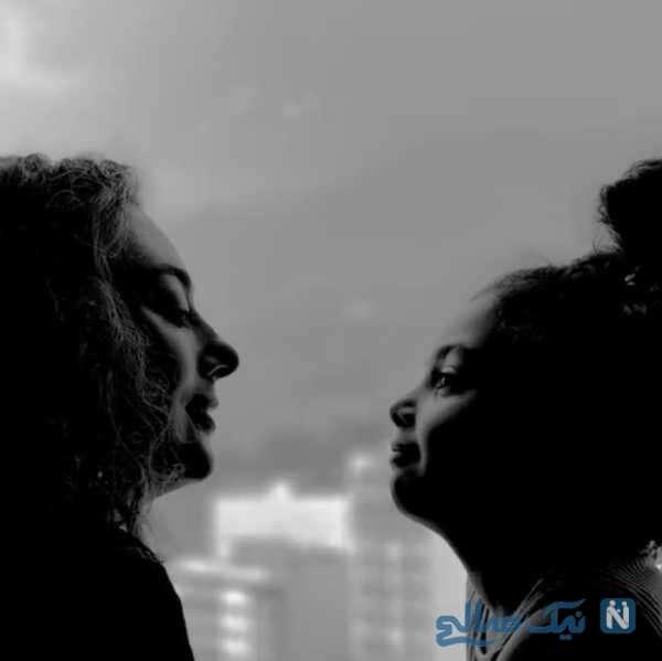 تصویر هنری یکتا ناصر و دخترش