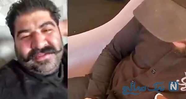 تماس تصویری از کربلا با بهنام بانی خواننده ایرانی