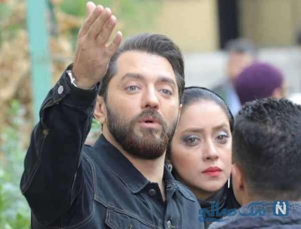 بازیگر سینما بهرام رادان و بهاره کیان افشار