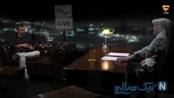 بازیگر سینما جواد عزتی در برنامه فریدون جیرانی