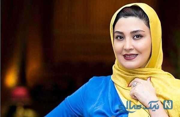 مریم معصومی بازیگر سینما در جشن تولد خواهرش مرجان