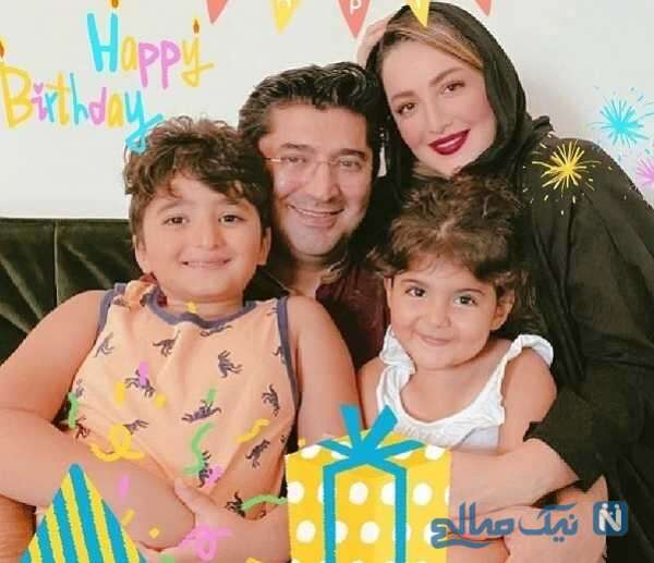 تبریک شیلا خداداد برای تولد همسرش