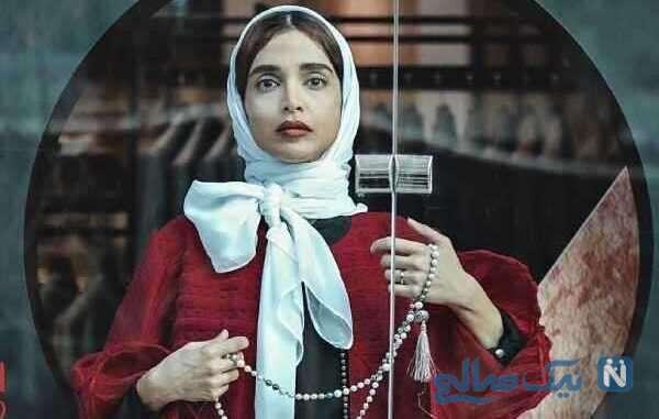 تصویری از الهه حصاری بازیگر ایرانی