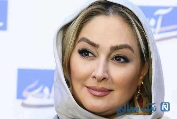 تبریک احساسی و عاشقانه الهام حمیدی بازیگر زن سینما برای تولد همسرش