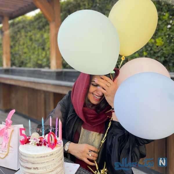 تولد 50 سالگی الهام پاوه نژاد