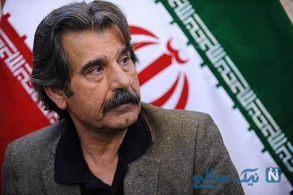 عزت الله مهرآوران بازیگر پس از درگیری ۹۰ درصدی ریه هایش به خواب مصنوعی رفت