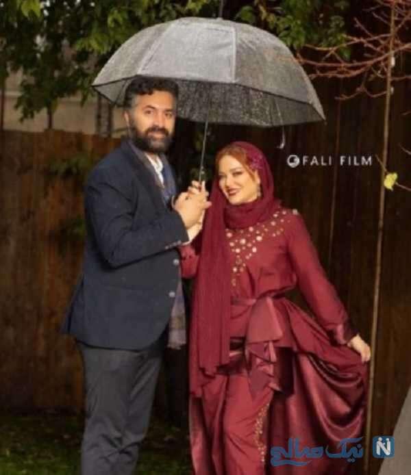 استایل جدید بهاره رهنما و همسرش