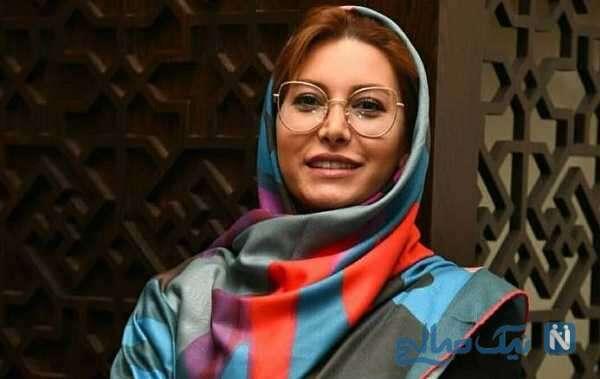 حضور فریبا نادری بازیگر زن سینما در مرکز حمایت از بیماران پروانه ای کشور