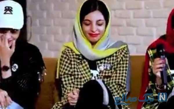 اشک های طرفداران دختر محمدرضا گلزار