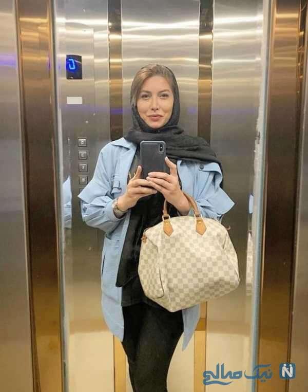 چهره جدید فریبا نادری بازیگر