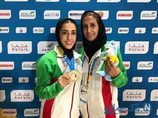مربی زن کاراته ایران