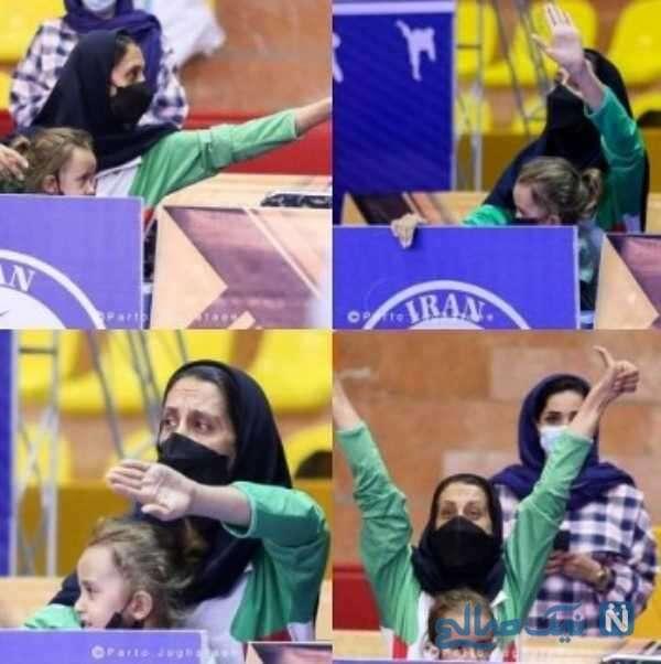 تصاویر مربی زن کاراته ایران