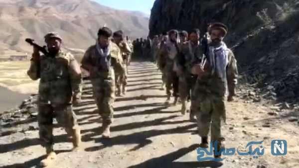 فیلم از پنجشیر پس از درگیری با طالبان