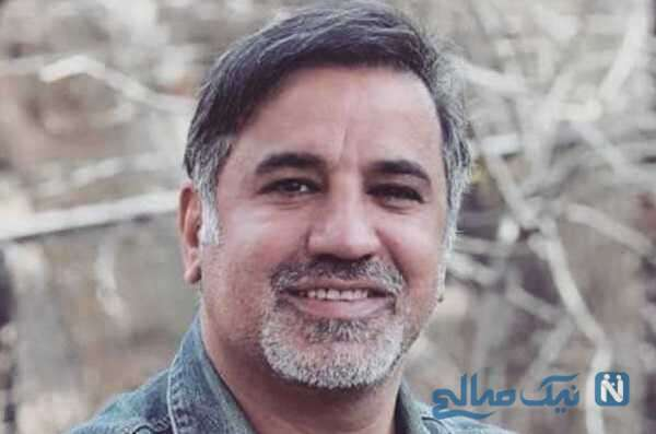 مراسم چهلم زنده یاد علی سلیمانی بازیگر با حضور همسر و دخترش