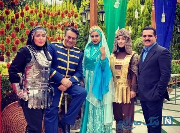تصویری از شبنم قلی خانی در نارگیل
