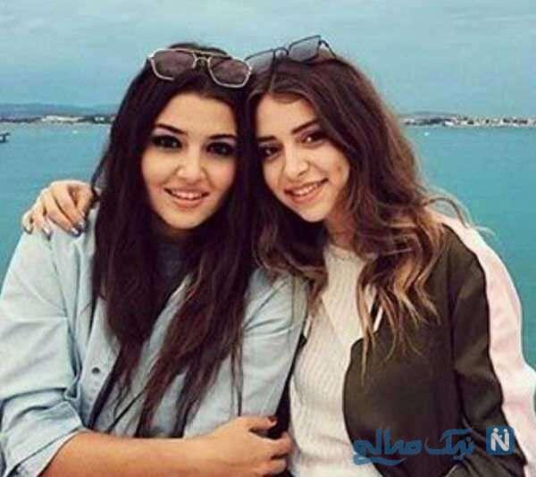بازیگر ترکیه ای و خواهرش