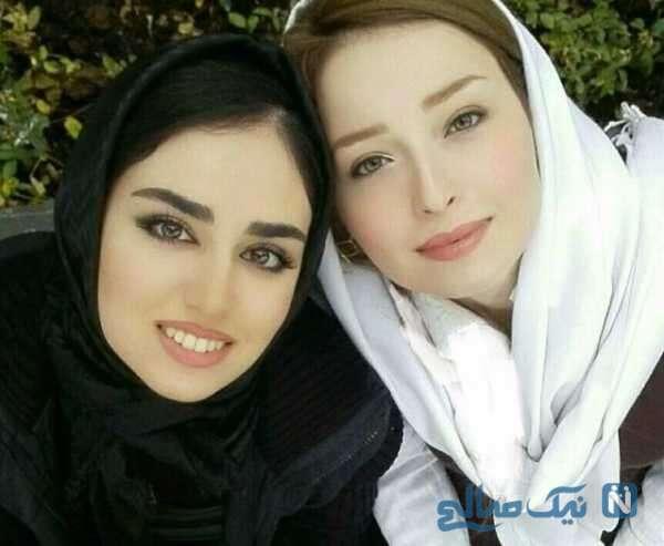 عکس جدید هانیه غلامی در کنار خاله اش