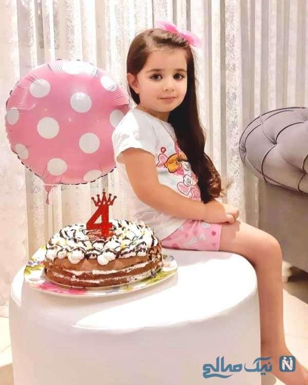 تولد 4 سالگی نوه محمود پاک نیت