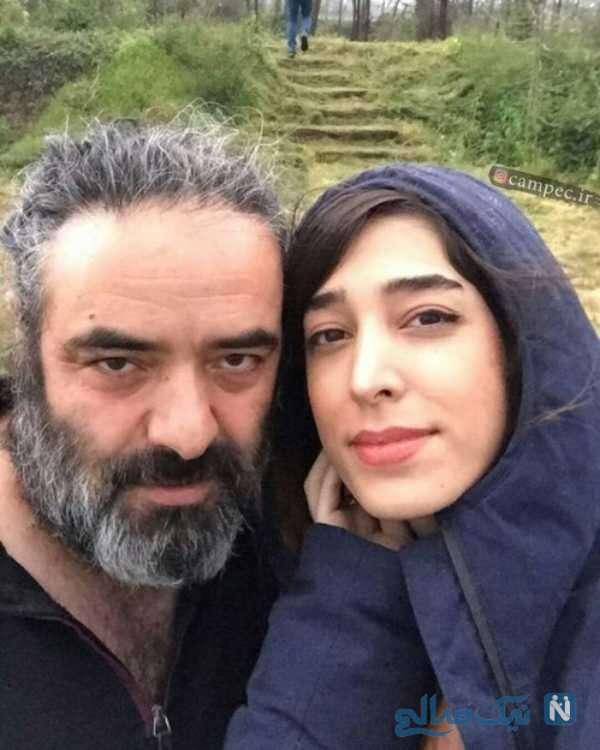 سلفی حسن معجونی با همسرش